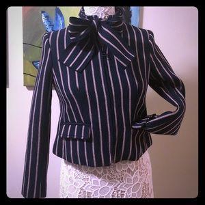 Vertical Striped BR Coat